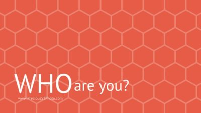 blog title: who are you?
