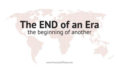 Blog title: the end of an era, the beginning of another