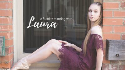 Title image for a blog post about a Sunday morning with talented dancer Laura Doleman